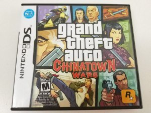 GTA: Chinatown Wars - DS (usado)