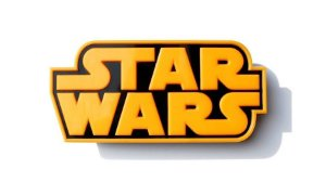 Luminaria Logo Star Wars - 3D Light FX