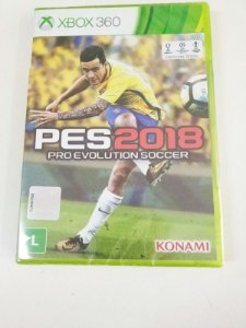 PES 2018: Pro Evolution Soccer - Xbox 360 (usado)