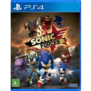 Sonic Forces - PS4 (usado)