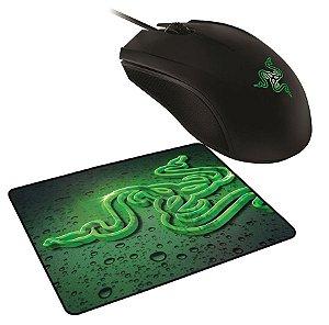 Mouse Gamer Razer Abyssus 1800DPI 3G C/ Mousepad Goliathus Speed
