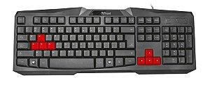 Teclado Trust Gaming Ziva USB - 22413