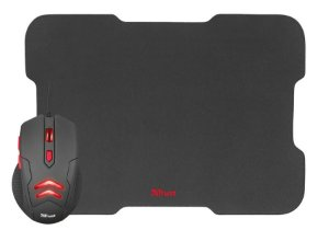 Combo Mouse & Mouse Pad Trust Gaming Ziva 3000DPI USB