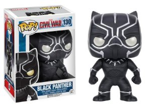 Black Panther: Civil War Bobble-Head - POP Funko 130