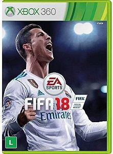 Fifa 18 - Xbox 360 (usado)