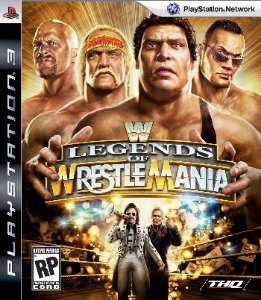WWE Legends of Wrestlemania - PS3 (usado)