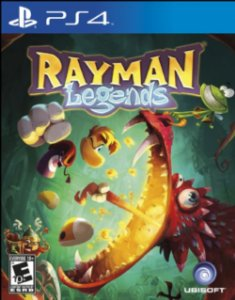 Rayman Legends - PS4 (usado)
