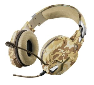 Headset Carus Desert Camo Trust GXT-322D PC/PS4/XboxOne/Switch