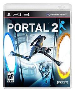 Portal 2 - PS3 (usado)