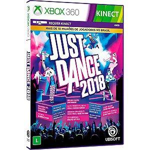 Just Dance 2018 - Xbox 360 (usado)