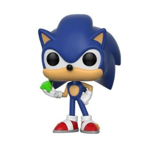 Sonic With Esmerald: POP Funko 284
