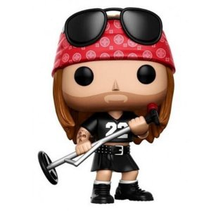 AXL Rose: Guns N Roses - POP Funko 50