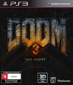 Doom 3: BFG Edition - PS3 (usado)