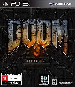 Doom 3: BFG Edition - PS3 (usado)