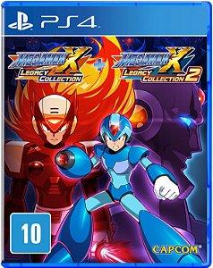 Megaman X: Legacy Collection 1 e 2 - PS4
