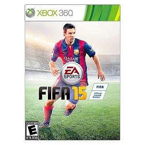 Fifa 15 - Xbox 360 (usado)
