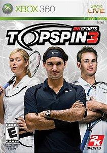 Top Spin 3 - Xbox 360 (usado)