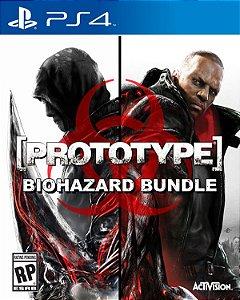 Prototype: Biohazard Bundle - PS4 (usado)
