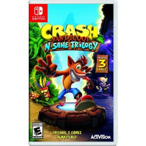 Crash Bandicoot: N. Sane Trilogy - Switch (usado)