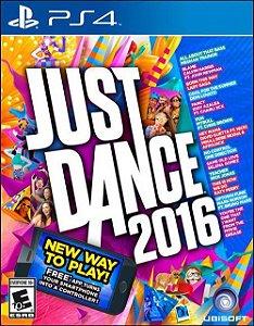 Just Dance 2016 - PS4 (usado)