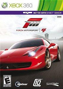 Forza Motorsport 4 - Xbox 360 (usado)
