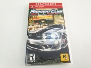 Midnight Club L.A Remix Greatest Hits - PSP (usado)
