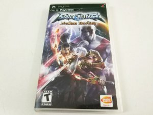 Soul Calibur: Broken Destiny - PSP (usado)
