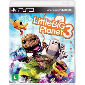 Little Big Planet 3 - PS3 (usado)