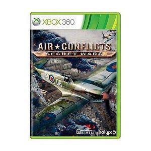 Air Conflicts: Secret Wars - Xbox 360 (usado)