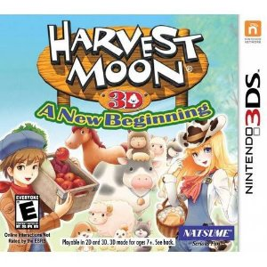 Harvest Moon 3D: A New Begenning - 3DS (usado)