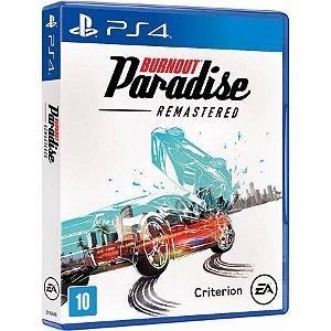 Burnout Paradise: Remastered - PS4 (usado)