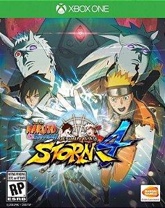 Naruto Shippuden: Ultimate Ninja Storm 4 - Xbox One (usado)