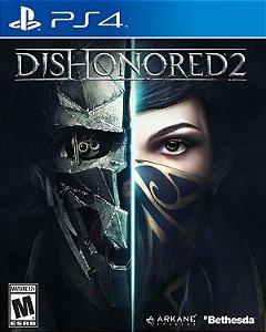 Dishonored 2 - PS4 (usado)