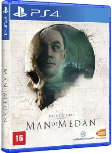 The Dark Pictures Anthology: Man of Medan - PS4 (usado)
