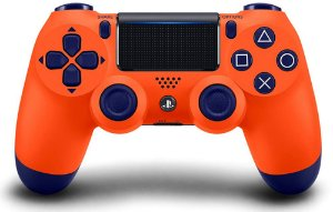 Controle PS4 Dualshock 4 Sunset Orange CUH-ZCT2U