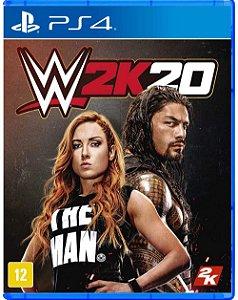 WWE 2K20 - PS4 (usado)