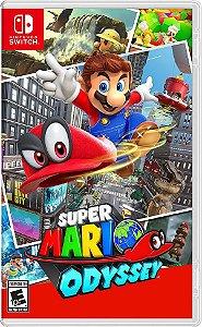 Super Mario Odyssey - Switch (usado)