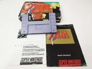The Legend of Zelda: A Link to The Past - SNES (usado)