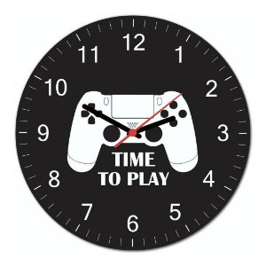 Gamer PS: Relogio de Parede - Beek