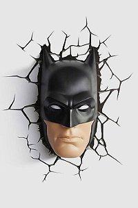 Luminária Batman Rosto: DC Comics - 3D Light FX