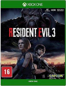 Resident Evil 3 - Xbox One (usado)