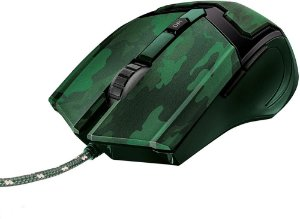 Mouse Gav Trust GXT-101C Jungle Camo 4800dpi USB