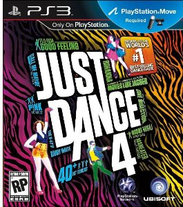 Just Dance 4 - PS3 (usado)