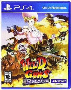 Wild Guns: Reloaded - PS4 (usado)