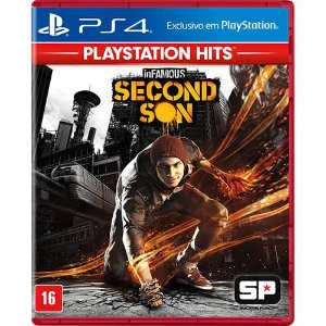 Infamous: Second Son Hits - PS4 (usado)
