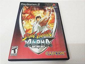 Street Fighter: Alpha Anthology - PS2 (usado)