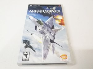 Ace Combat X: Skies of Deception - PSP (usado)