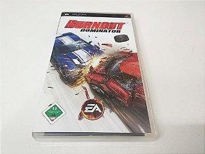 Burnout: Dominator - PSP (usado)