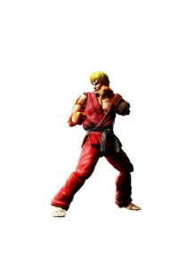 Ken Masters Nº07 Street Fighter: S.H.Figuarts - Bandai