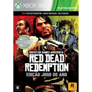 Red Dead Redemption: Goty Edition Platinum Hits - Xbox 360 (usado)